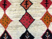 Tapis vintage Persan Gabbeh fait main, 1Q0346