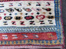 Tapis vintage Persan Gabbeh fait main, 1Q0353