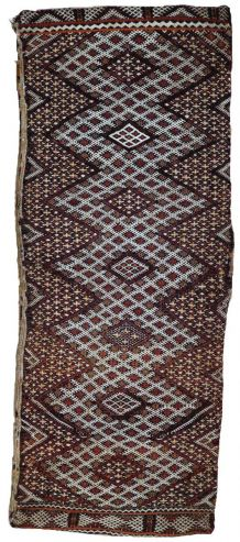 Tapis vintage Marocain Berber fait main. 1P32