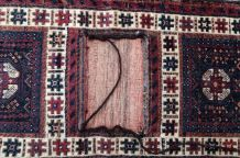 Tapis vintage Afghan Baluch fait main, 1P33