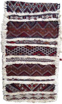 Tapis vintage Marocain Berber fait main, 1P38