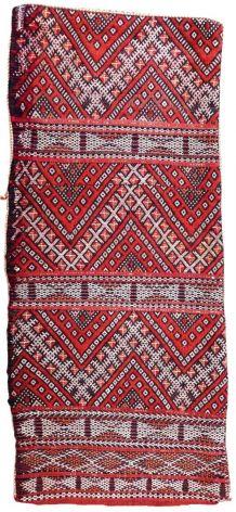 Tapis vintage Marocain Berber fait main, 1P39