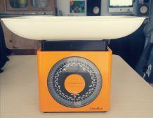Balance vintage orange Terraillon grand plateau