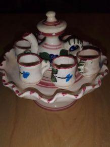 Superbe service à thé/café miniature
