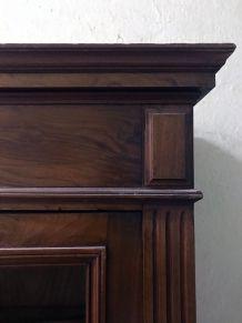 Armoire ancien à 2 portes en bois massif