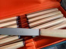 Couteaux Guy Degrenne vintage.