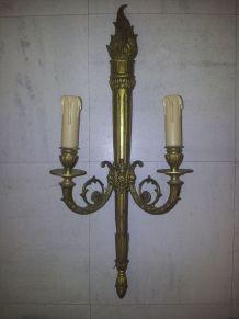 3 grandes appliques en bronze