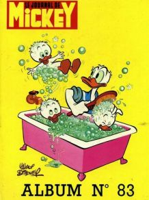 Album le journal de Mickey n°83