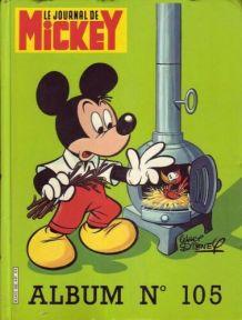 Album le journal de Mickey n°105