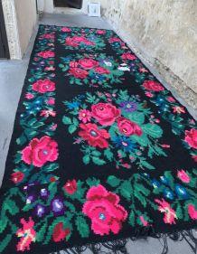 Superbe tapis kilim laine Moldave/Ukraine