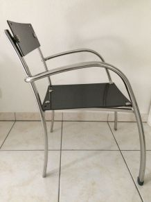 Chaises assise carbone plein