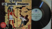 "VINYLE 25CM ""LE MYSTERE DE LA GRANDE PYRAMIDE"""