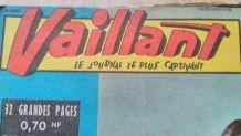 JOURNAUX VAILLANT 1961