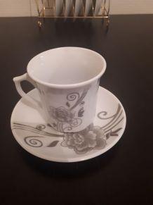 Service à café en porcelaine BAVARY