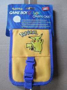 sacoche de rangement pour Game Boy Color Pokémon jaune