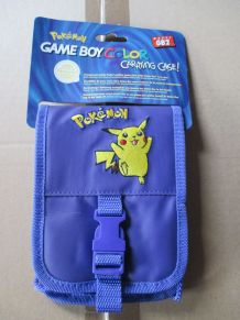 sacoche de rangement pour Game Boy Color Pokémon violet