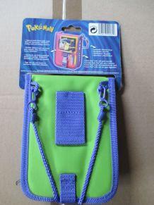 sacoche de rangement pour Game Boy Color Pokémon vert