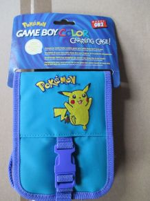 Pochette de protection pour Game Boy Color Pokémon bleu