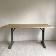 Grande table bistrot vintage 50's