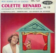Vinyles 45T Colette Renard