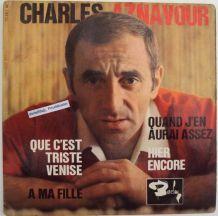 Vinyles 45T Charles Aznavour