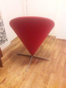 Cone chair - vitra-Verner Penton rouge