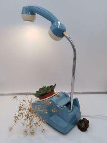 Lampe téléphone /Lampe industrielle /Detournement d'objet