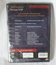 DVD Nabucco Giuseppe Verdi Philarmonique de Vienne