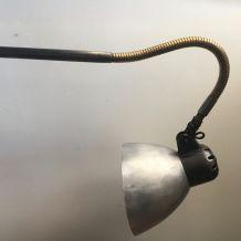 ANCIENNE LAMPE APPLIQUE INDUSTRIELLE ALLEMANDE «SIS»