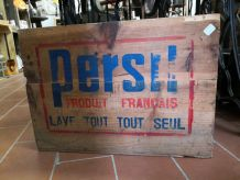 Caisse ancienne marque persil