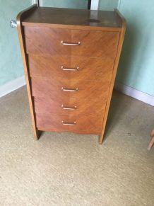 Commode 5 tiroirs vintage 50/60'