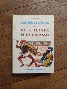 Contes et Récits tirés de l'Iliade et de l'Odyssée- Chandon