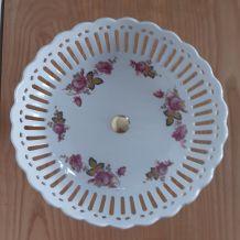 Compotier en porcelaine R Frery