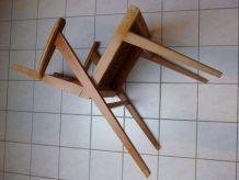 fauteuil  année 50 pieds compas vintage