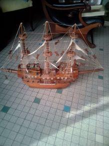 Grande maquette voilier 3mats