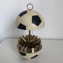 Porte-cigarettes vintage 1960 ballon football boîte - 15 cm