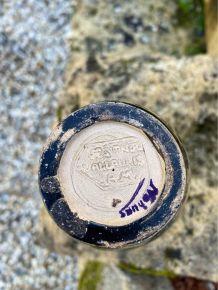 Vase style grec Vallauris A.M avec signature