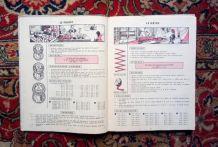 Ancien manuel scolaire - méthode de calcul - 1956