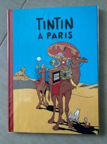 Album Pastiche - TINTIN À PARIS  / EO Chiquita 1984