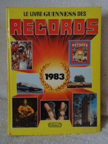 Livre Guinnes des Records 1983 , illustré 498 pages