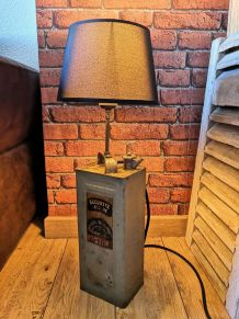 Lampe industrielle bidon d'essence Photoline