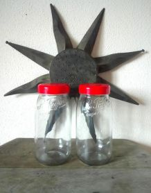 """2 pots de conservation à vis """"le parfait"""" super - 3 litres"""