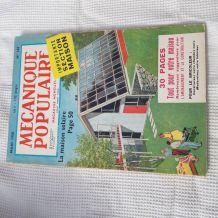magazine de mars 1958 de bricolage