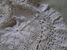 Napperon dentelle de crochet