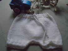 Culotte bébé
