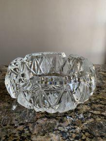 Cendrier en cristal