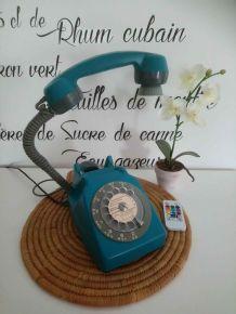 LAMPE À POSER RÉCUP' TÉLÉPHONE VINTAGE'71