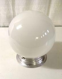 Globe opaline – années 50