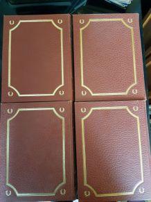 4 anciens livres Histoire générale de l'enseignement TBE