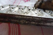 Moule à chocolats de Paques/poissons ancien